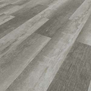Novocore Vintage Dark Grey Luxury Vinyl Click Flooring Pack - 2.56m2 Pack