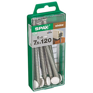 Spax Frame Anchor T-Star WIROX - 7.5mm x 120mm Pack of 6