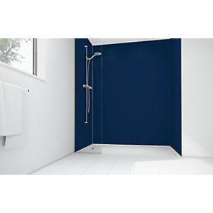 Mermaid Atlantic Matte Acrylic 2 Sided Shower Panel Kit