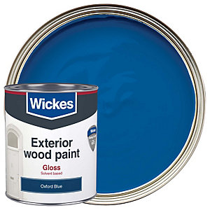 Wickes Exterior Gloss Oxford Blue 750ml