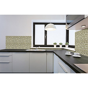 Wickes House of Mosaics Cairns Mosaic Tile Sheet - 300 x 300mm