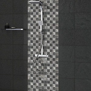 Wickes House of Mosaics Formation Mosaic Tile Sheet - 300 x 300mm