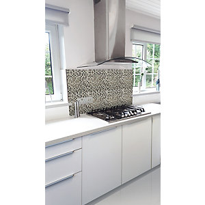Wickes House of Mosaics Tembisa Square Mosaic Tile Sheet - 300 x 300mm