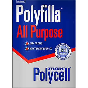 Polycell Trade Polyfilla All Purpose Powder Filler - 2kg
