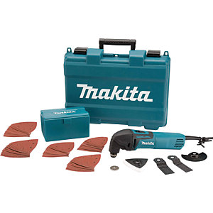 Makita TM3000CX4/1 Multi Tool With 42 Piece Accessory Kit 110V - 320W