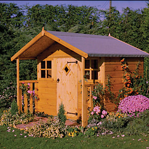 Shire 6 x 4ft Cubby Playhouse