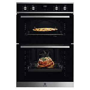Electrolux Built In Double Oven KDFEE40X