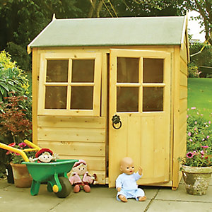 Shire 4 x 4 ft Bunny Entry Level Wooden Playhouse