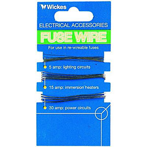 Wickes Fuse Wire - Pack of 3