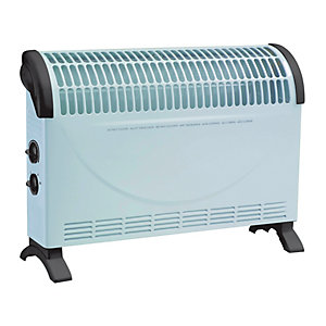 Wickes White Convector Heater - 2kW