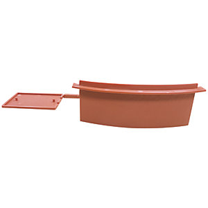 Easy-Trim Verge U Starter/End Cap Packs Terracotta