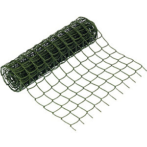 Wickes Heavy Duty Plant Mesh Green - 500mm x 5m