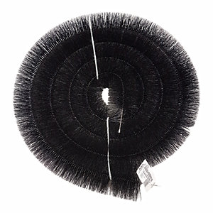 FloPlast 4m Gutter Brush Debris Eliminator - Black