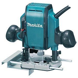 Makita RP0900X 1/4in Corded Plunge Router 110V - 900W