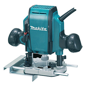 Makita RP0900X/2 1/4in Corded Plunge Router 240V - 900W