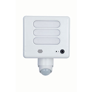 LUTEC ESA LED Securty Floodlight with Wireless CCTV