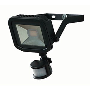 Luceco Guardian Slimline PIR Floodlight IP65 Black 1800 Lumens 22W