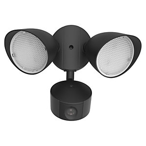 Lutec Draco WI-FI Connected LED Security Floodlight & Camera