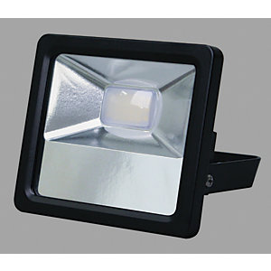 Wickes Alumnium Flood Light IP65 - Black Finish 10W