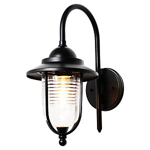 Zinc Eris Fishermans Lantern E27 Black