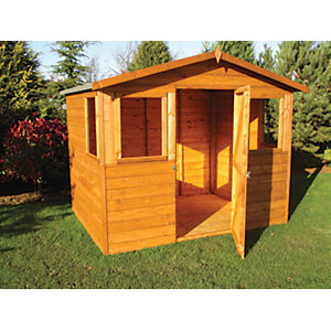 Shire Orkney Timber Apex Decorative Shed - 8 x 6 ft