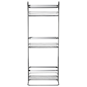 Croydex 3 Tier Freestanding Storage Basket