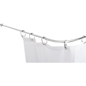 Croydex Fineline Modular 4 Way Shower Rod System