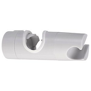 Wickes Shower Riser Rail Slider - White