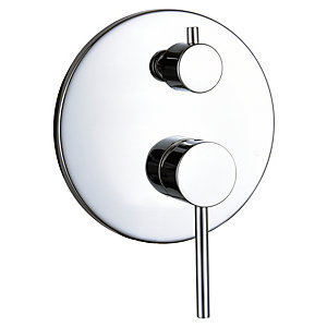 Bristan Round Concealed Shower Valve with Diverter - Chrome