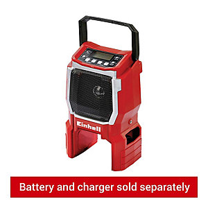 Einhell Power X-Change TE-CR 18 Li 18V AM/FM Site Radio - Bare