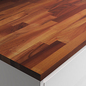 27mm Solid Wood European Walnut Worktop 610mm X 3m