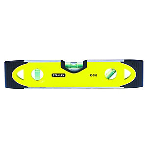 Stanley 0-43-511 Shockproof Torpedo Level - 200mm