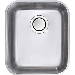 Bordo Large 1 Bowl Undermount Stainless Steel Kitchen Sink