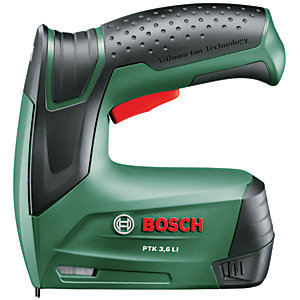 Bosch PTK 3.6V 1.3Ah Li-ion Cordless Tacker