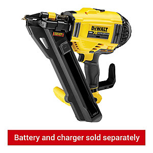 DEWALT DCN694N-XJ 18V XR Li-Ion 1 Speed Metal Connector Nailer - Bare