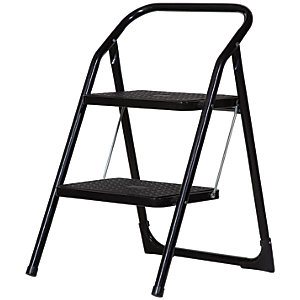 Abru 2 Step Stepstool - Black