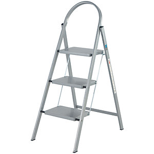 Abru 3 Step Handy Stepstool - Grey