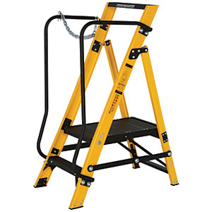 Youngman Megastep 2 Tread Fibreglass Platform Stepladder