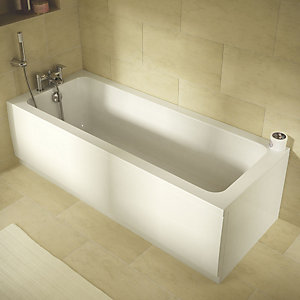 Wickes Camisa Reinforced Straight Bath - 1700 x 510mm