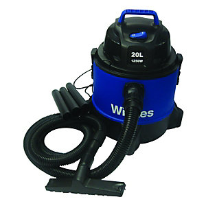 Wickes Wet & Dry Vacuum Cleaner With Blower 20L - 1250W