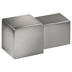 Homelux 12mm Square Stainless Steel Corners