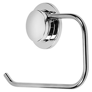 Croydex Stick & Lock ChromeToilet Roll Holder