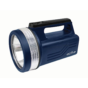 Active AP Torches A50923 LED Blue Lantern Spotlight with Battery - 118lm