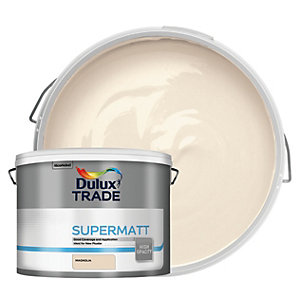Dulux Trade Supermatt Emulsion Paint - Magnolia 10L