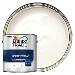 Dulux Trade Undercoat Paint - White 2.5L