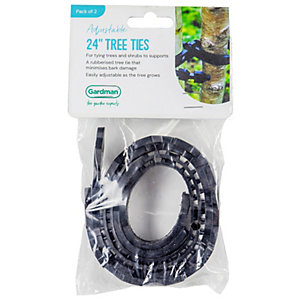 Plantpak Tree Ties 60x25cm 2 Pack
