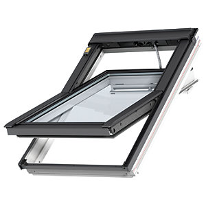 VELUX INTEGRA White Painted Electric Centre Pivot Roof Window