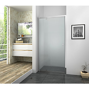 Vision 6mm Framed Chrome Pivot Shower Door Only - Various Sizes Available