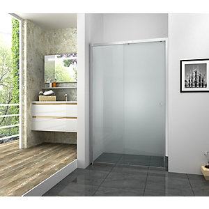 Vision 6mm Framed Chrome Sliding Shower Door Only - Various Sizes Available