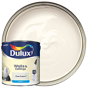 Dulux - Fine Cream - Matt Emulsion Paint 2.5L